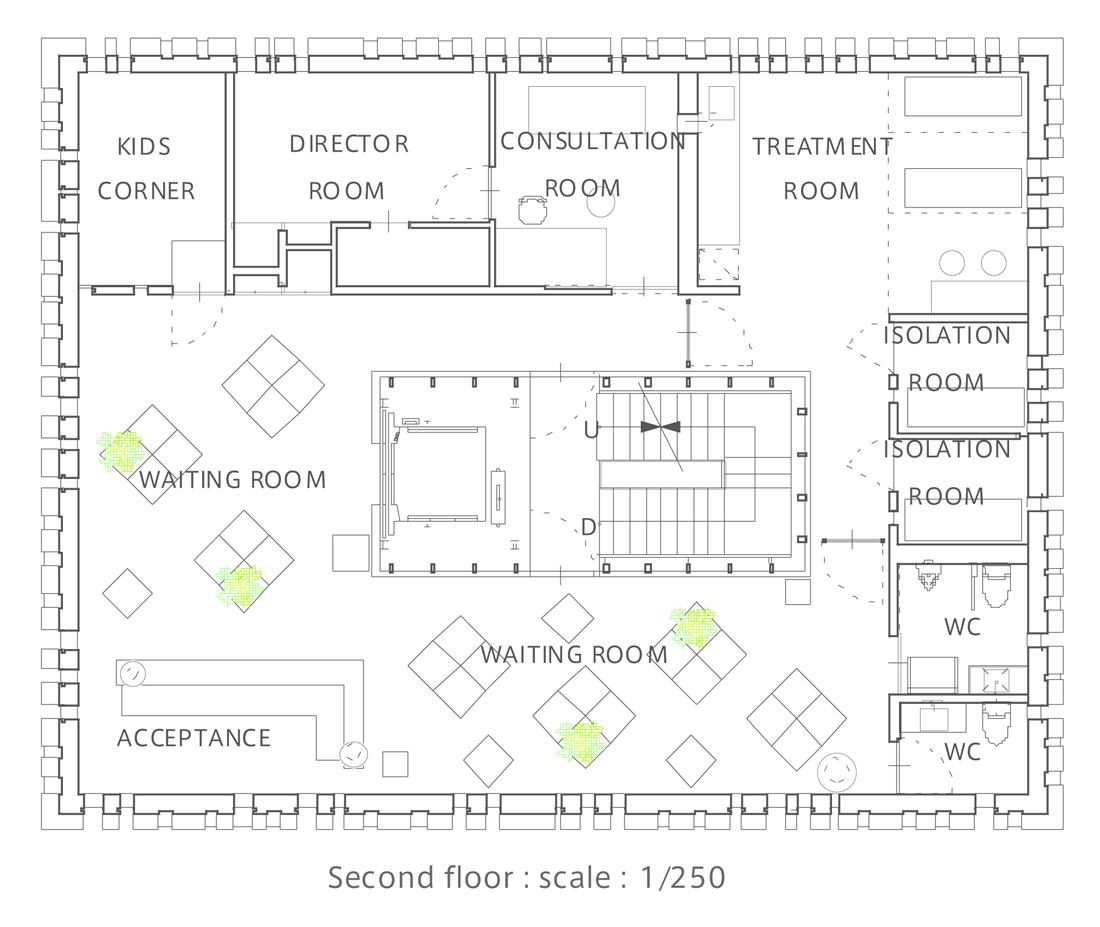 16 - second floor plan